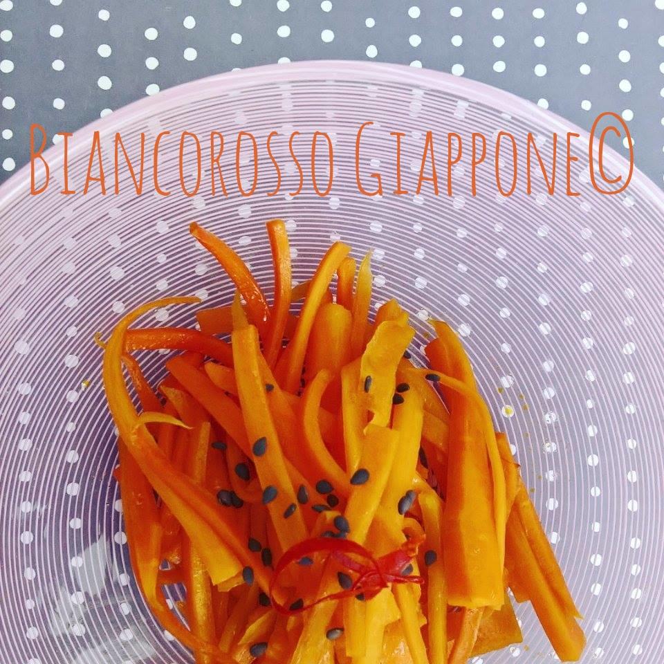 Kinpira di carote