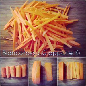 Taglio della carota