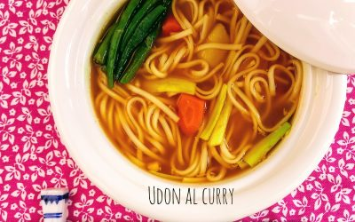 Udon al curry